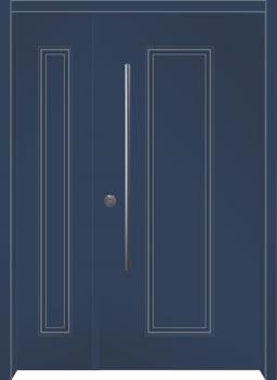 דלת מדגם: דלת כניסה מעוצבת דגם B12004