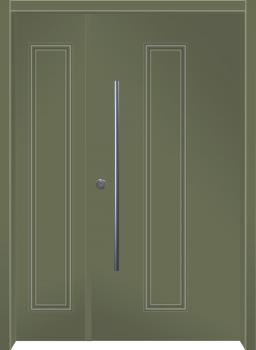 דלת מדגם: דלת מעוצבת דגם B12006
