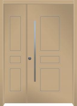 דלת מדגם: דלת מעוצבת דגם B12009