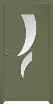 דלת מדגם: דלת כניסה מעוצבת דגם B13001
