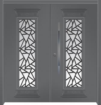דלת מדגם: דלת כניסה מעוצבת דגם B13004