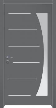 דלת מדגם: דלת כניסה מעוצבת דגם B13007